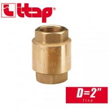 """Обратный клапан пружинный EUROPA Itap D2"""" арт. 100"""