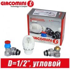 """Комплект Giacomini D=1/2"""" угловой R470FX003"""