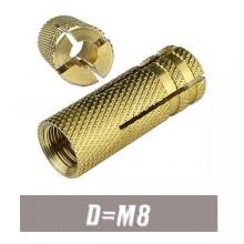 Анкер латунный М8