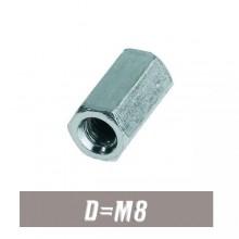 Муфта-гайка М8