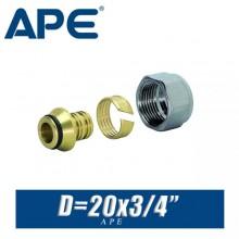 """Евроконус APE D20x3/4"""", вн."""