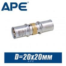 Муфта под пресс APE D20x20 мм