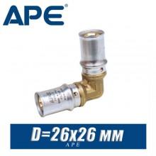 Угол под пресс APE D26x26 мм