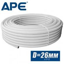Труба металлопластик APE D26x3,5 мм (по метрам)