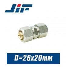 Муфта цанговая JiF D26x20 мм