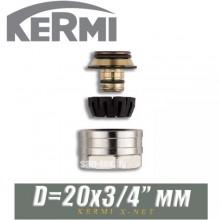 """Евроконус Kermi x-net D20x3/4"""" мм"""