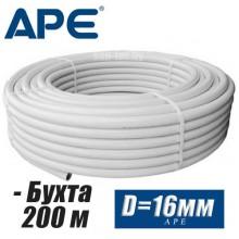 Труба металлопластик APE D16x2 мм (бухта 200 м)