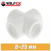 Крестовина полипропилен Valfex D25 мм
