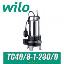 Насос погружной дренажный Wilo TC40/8-1-230/D