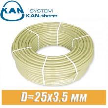 Труба KAN-therm Push PE-Xc D=25x3,5 мм