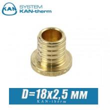 Заглушка KAN-therm Push D=18x2,5 мм