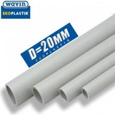 Полипропиленовая труба Wavin Ekoplastic PPR D20 мм