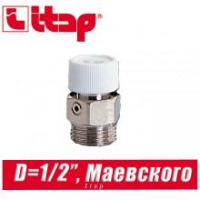 """Кран Маевского Itap D1/2"""" арт. 194"""