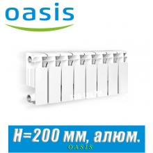 Радиатор алюминиевый Оазис 200/100