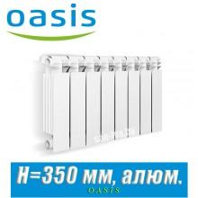 Радиатор алюминиевый Оазис 350/80