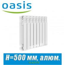 Радиатор алюминиевый Оазис 500/70