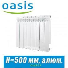 Радиатор алюминиевый Оазис 500/80