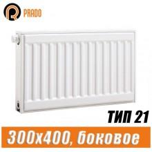 Стальной радиатор Prado Classic тип 21 300x400 мм