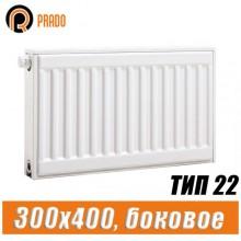 Стальной радиатор Prado Classic тип 22 300x400 мм