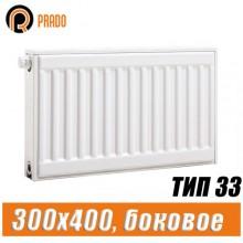 Стальной радиатор Prado Classic тип 33 300x400 мм