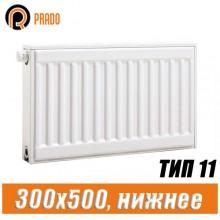 Стальной радиатор Prado Universal тип 11 300x500 мм