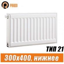 Стальной радиатор Prado Universal тип 21 300x400 мм