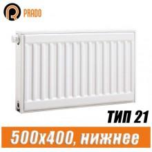Стальной радиатор Prado Universal тип 21 500x400 мм