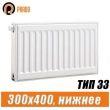Стальной радиатор Prado Universal тип 33 300x400 мм
