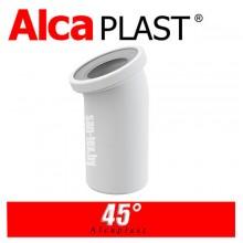 Фановая труба для унитаза Alcaplast A90-45 45°