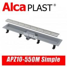 Трап линейный Alcaplast APZ10-550M Simple (55 см)
