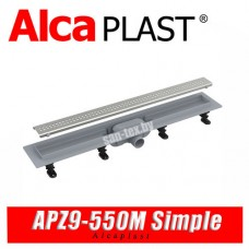 Трап линейный Alcaplast APZ9-550M Simple (55 см)