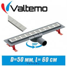 Душевой лоток Valtemo Euroline Base VLD-520305 C-01 (60 см)