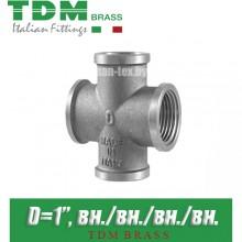 "Крестовина никелированная TDM Brass D1"""