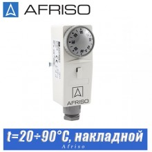 Термостат накладной Afriso 20÷90°C