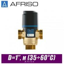 Трехходовой клапан Afriso ATM563 D=1'', н (35÷60°С)