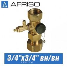 """Клапан для расширительного бака Afriso ASK 3/4""""х3/4"""" вн/вн"""