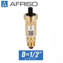 """Воздухоотводчик AFRISO с клапаном D=1/2"""" Aquastop"""