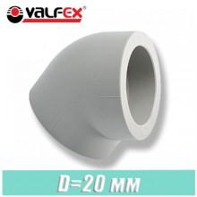 Угол паечный Valfex D20x45 град.