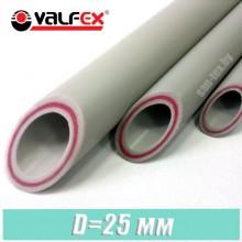 Полипропиленовая труба стекловолокно Valfex 25x3,5 мм
