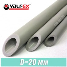 Полипропиленовая труба Valfex 20x3,4 мм