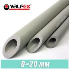 Полипропиленовая труба Valfex 20x3,4 мм PN 20