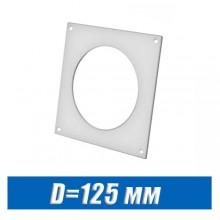 Площадка настенная для круглых каналов D=125 мм