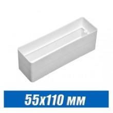 Соединитель для плоских воздуховодов 55х110 мм