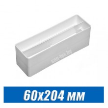 Соединитель с клапаном 60х204 мм