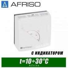Термостат комнатный Afriso TA3 - 10÷30°C (с индикатором)